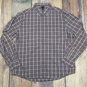 Marmot Long Sleeve Button Down Zippered Pocket XXL